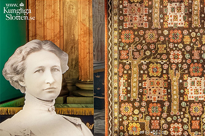 Märta Måås-Fjetterström exhibition Look at the rugs Royal Palace