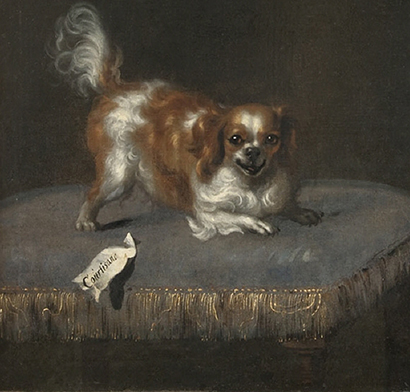 Queen Hedvig Eleanora's dog Courtisan